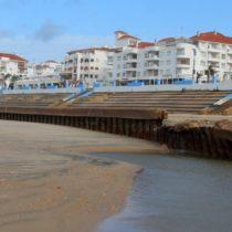 El temporal deja secuelas en la costa de Huelva