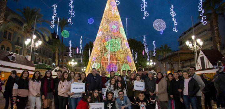 Así es el alumbrado navideño de Huelva
